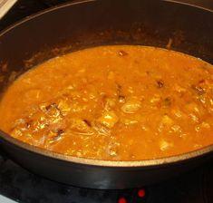Gryta med fläskkött och mango chutney Mango, Chutney, Curry, Food And Drink, Gluten, Cooking, Ethnic Recipes, Elsa, Drinks