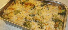 Kasslergratäng med blomkål och broccoli