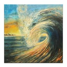 Artist Lane Last Wave by Jennifer Webb Framed Painting Print on Wrapped Canvas Artist Lane Last Wave von Jennifer Webb … Lake Painting, Painting Frames, Painting Prints, Canvas Art, Canvas Prints, Canvas Size, Artist Canvas, Wassily Kandinsky Paintings, Wave Art