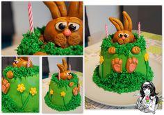 Felix der Haase Kuchen Felix the Rabbit Cake  https://www.facebook.com/ChristinasCakeFactory/