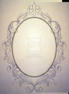 mirror frame tattoo designs - Google Search