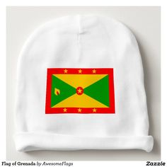 Flag of Grenada Baby Beanie