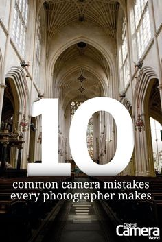 We've all made simple camera mistakes - some great and some small - but there are some that creep up a bit more frequently than others. Here are the top 10 most common camera mistakes that most photographers make at some point and how to avoid them.