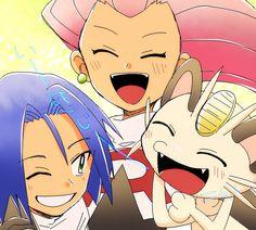 Pokemon Team Rocket, Pokemon Tv, Pokemon People, Pokemon Fan Art, Pokemon Cards, Jessie Team Rocket, Team Rocket James, Pokemon Jessie And James, Equipe Rocket