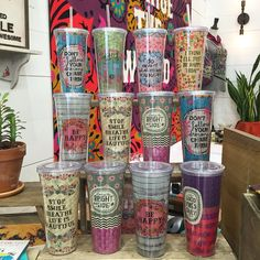 On-the-go cups . . .  Perfect for transporting your fave drink! | Natural Life