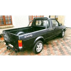 How she looked when i first got the mk1 VW caddy pickup