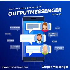 Is your existing messenger doesn't meet up your expectations? Don't get fret up! Output Messenger will do all tactics with new and exciting features. Time Management Tools, Local Area Network, Enterprise Business, Active Directory, Instant Messenger, Browser Support, Instant Messaging, Make Business, Communication