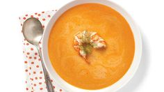 Try this Lobster bisque recipe Seafood Recipes, Cooking Recipes, Healthy Recipes, Eat Healthy, Lobster Bisque Recipe, Canned Tomato Sauce, Fish And Seafood, Nutrition, Stuffed Peppers