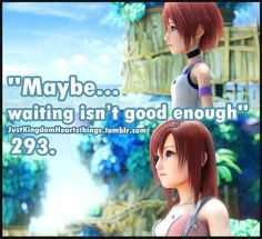 Waiting isn't good enough
