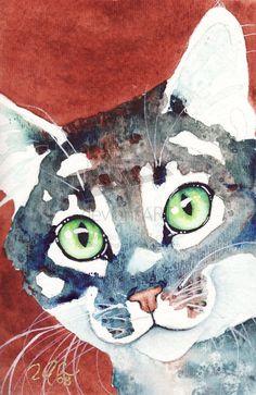 artsy cat