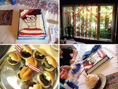 where's waldo party 8th Birthday, Birthday Parties, Birthday Cake, Wo Ist Walter, Wheres Wally, Party Themes, Party Ideas, Gift Ideas, E Craft