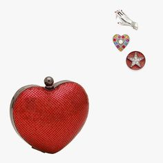 The Most Dazzling Red Carpet Accessories at Every Price to Glam Up Your Next Big Night Met Gala Red Carpet, Big Night, Charity, Marc Jacobs, Coin Purse, Jewelry Accessories, Brooch, Shapes, Heart