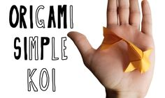 Origami Simple Koi (Riccardo Foschi)