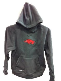 Grab one of these awesome hoodies from Hibbett Sports so you can cheer on the Hogs, even when it's cold!!