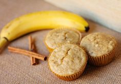 {Melt In Your Mouth} Banana Muffins