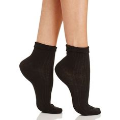 kate spade new york Lady Ruffle Anklet Socks ($11) ❤ liked on Polyvore featuring intimates, hosiery, socks, black, frill socks, anklet socks, ruffle socks, frilly socks and kate spade socks