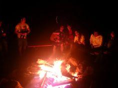 #fire #friends #music #skyandstars