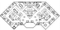 Commercial Floor Plan Library Floor Plan, Cafe Floor Plan, Office Floor Plan, Hotel Floor Plan, Commercial Interior Design, Office Interior Design, Commercial Interiors, Office Layout Plan, Office Space Planning