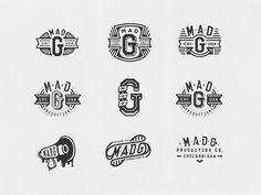 MADG Production Co. II Logos by Jeff Buchanan
