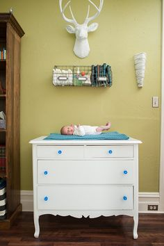 modern eclectic baby boy nursery - Life at 111 blog