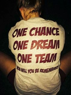 One team. Cheer&dance Believe and fly Football Cheer, Cheer Camp, Cheer Coaches, Cheer Dance, Football Sayings, Nca Cheer, Youth Cheer, Football Banner, Football Spirit