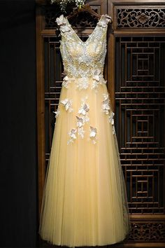 Long Prom Dresses #LongPromDresses, Lace Prom Dresses #LacePromDresses