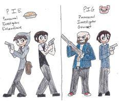 PIE and PIG by ShoobaQueen on DeviantArt