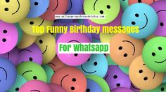 top funny birthday messages
