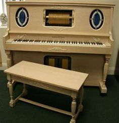 Story & Clark Old Fashioned Player Piano