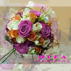 Bouquets - Ramos de Novias - Bouvardia, Freesia & Rosas