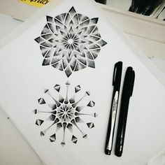 Sacred geometry, available design #dots #sketch #texas #blackspottattoocompany