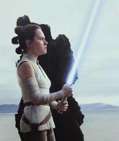 Rey's Jedi training under Luke.