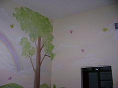 Swan Lake Children's Murals - Children's murals in Palm Beach County ,Florida,Mural,Kids Mural,Children's Wall Mural,Nursery Murals,Murals for Kids, Miami / Fort Lauderdale,West Palm Beach,Palm Beaches