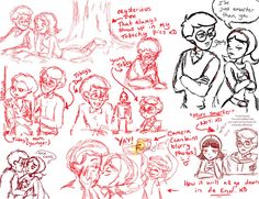 WordGirl Sketchdump of RED XD by SarcasticLeaves