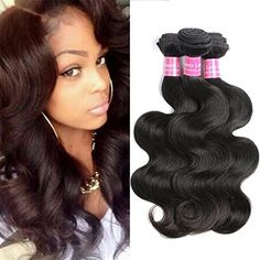 Suitable Hair Brazilian Virgin Hair 3 Bundles Body Wave Weft 8A Unprocessed Human Hair Weave Extensions Natural Color 3pcs (16 18 20) >>> See this great product. (This is an affiliate link and I receive a commission for the sales)