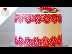 I share in my channel videos that will help you make colorful fondant cakes, biscuits, delicious cupcakes, modeling tricks with fonda. Fancy Cakes, Mini Cakes, Fondant Cakes, Cupcake Cakes, Sugar Lace, Sugar Veil, Cake Filling Recipes, Edible Lace, Cake Topper Tutorial