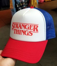 83e25a75 Halloween Horror Nights Universal Studios Parks HHN 2018 Trucker Hat Stranger  Things. Love it!