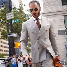 men suits casual -- Click VISIT link above for more info Mens Fashion Suits, Mens Suits, Men's Fashion, Suit And Tie, Well Dressed Men, Gentleman Style, Stylish Men, Double Breasted, Men Dress