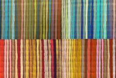 painted stripes on cardboard by ashleyspirals, via Flickr