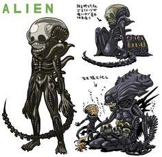 icones-science-fiction-film-horreur-version-manga