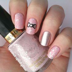 Nail art noeud - bow nails