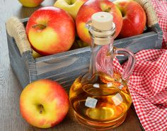 The widespread use of apple cider vinegar has made this fermented product a popular item. Here's how to get the many apple cider vinegar benefits for yourself. Apple Cider Vinegar Remedies, Apple Cider Vinegar For Skin, Apple Cider Vinegar Benefits, Cherry Fruit Tree, Fruit Trees, Apple Health Benefits, Vinegar Weight Loss, Skin Care Treatments, Natural Home Remedies