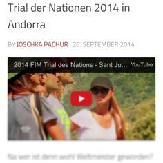 Sieh dir jetzt das Videozum Trial der Nationen an! http://trial-magazin.com/trial-der-nationen-2014-in-andorra/ #trialmagazin #trial #trialdernationen #fim #tonibou