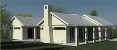 Traditional 180m² Northern Entrance House Plan