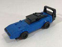 Daytona Charger | Zach Sweigart | Flickr Lego Cars Instructions, Lego Structures, Lego Dragon, Lego Ww2, Lego Speed Champions, Lego Craft, Lego Builder, All Lego, Lego Room