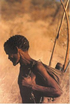 Art of Africa :: The Kalahari bushmen, their hunting, crafts and culture