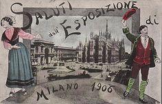 Cartolina Expo 1906