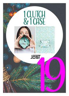 Einen schönen Montag, Ihr lieben! Heute im 19. Türchen unseres Adventskalender verlosen wir 1 Clutch + 1 Beauty Case von JOST.