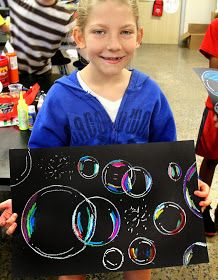 smART Class: Floating on to ___ grade!! End of the year project! Or just a great art project to do with the kids. However I'm thinking of using glow in the dark paint.