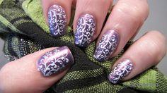 Nail Art by Belegwen: Vaaleaa lilaa..